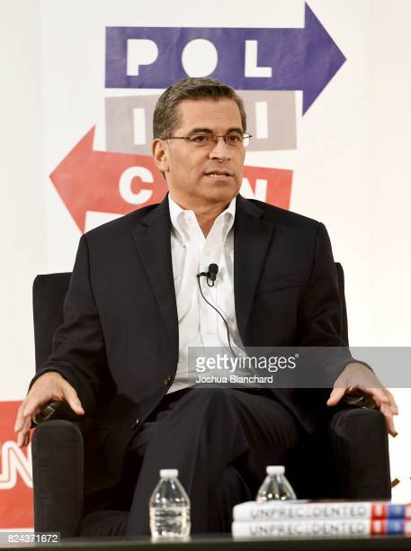 Xavier Becerra at 'The Pont' panel during Politicon at Pasadena Convention Center on July 29 2017 in Pasadena California
