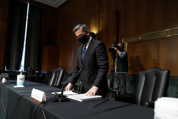 DC: Senate Finance Committee Considers Xavier Becerra For HHS Secretary