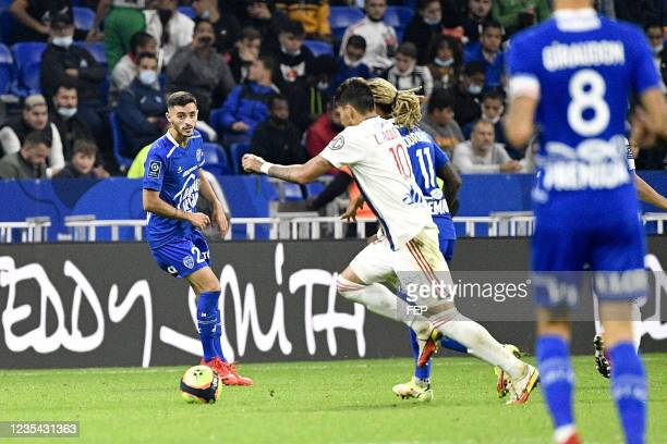 Xavier CHAVALERIN during the Ligue 1 Uber Eats match between Lyon and Troyes at Groupama Stadium on September 22, 2021 in Lyon, France.
