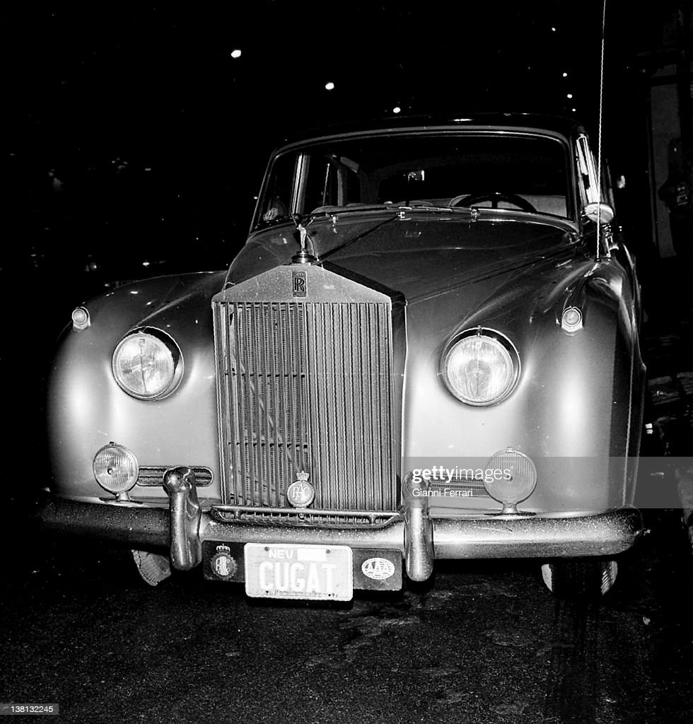 The car of Xavier Cugat Pictures | Getty Images