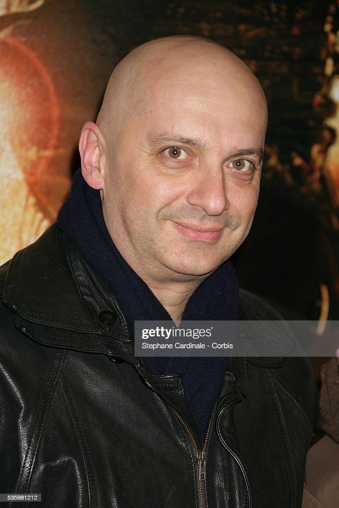 Xavier de Fontenay arriving at the premiere of 'Bandidas' in Paris.