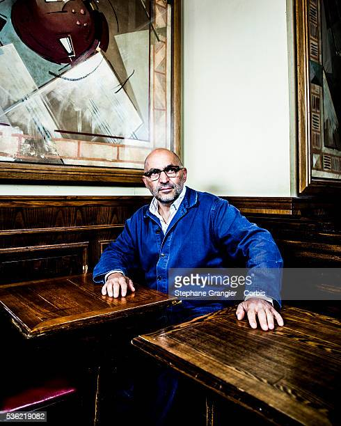 Xavier Denamur Restaurant Owner Restaurateur Photographed In Paris