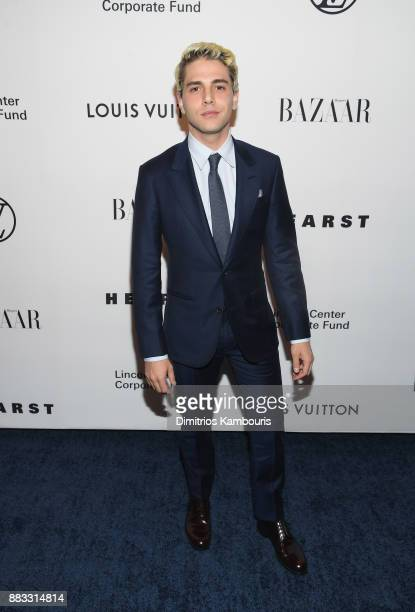 Xavier Dolan attends An Evening Honoring Louis Vuitton and Nicolas Ghesquiere at Alice Tully Hall at Lincoln Center on November 30 2017 in New York...