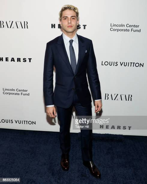 Xavier Dolan attends 'An Evening Honoring Louis Vuitton And Nicolas Ghesquiere' at Alice Tully Hall at Lincoln Center on November 30 2017 in New York...