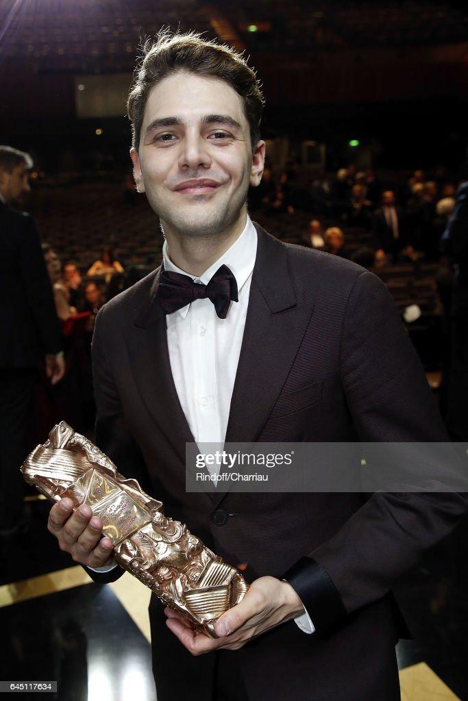 Backstage- Cesar Film Awards 2017 At Salle Pleyel : Photo d'actualité