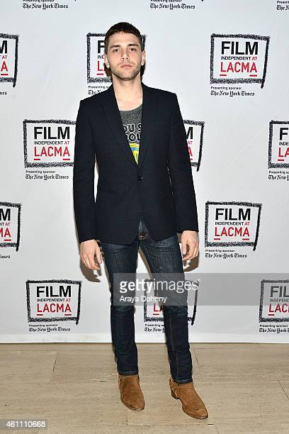 Xavier Dolan attends the Film Independent at LACMA screening and QA of 'Mommy' at Bing Theatre At LACMA on January 6 2015 in Los Angeles California