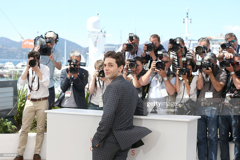 Xavier Dolan attends the 'It's Only The End Of The World (Juste La Fin Du Monde)' Photocall during the 69th annual Cannes Film Festival at the Palais des Festivals on May 19, 2016 in Cannes, France.
