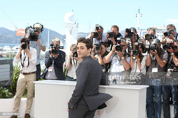 Xavier Dolan attends the 'It's Only The End Of The World ' Photocall during the 69th annual Cannes Film Festival at the Palais des Festivals on May...
