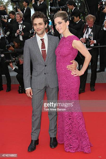 Xavier Dolan attends the 'Sicario' premiere during the 68th annual Cannes Film Festival on May 19 2015 in Cannes France