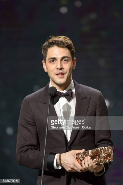 Xavier Dolan during the Cesar Film Awards 2017 ceremony at Salle Pleyel on February 24 2017 in Paris France