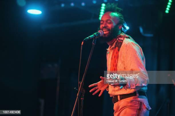 Xavier Dphrepaulezz aka Fantastic Negrito performs at Saturn Birmingham on July 18 2018 in Birmingham Alabama