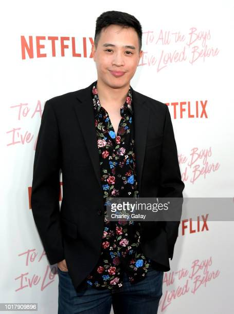 Xavier Gallegos attends Netflix's 'To All the Boys I've Loved Before' Los Angeles Special Screening at Arclight Cinemas Culver City on August 16 2018...