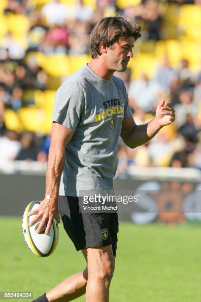Xavier Garbajosa of La Rochelle during the Top 14 match between Stade Rochelais and Oyonnax Rugby at La Rochelle on September 23 2017 in France
