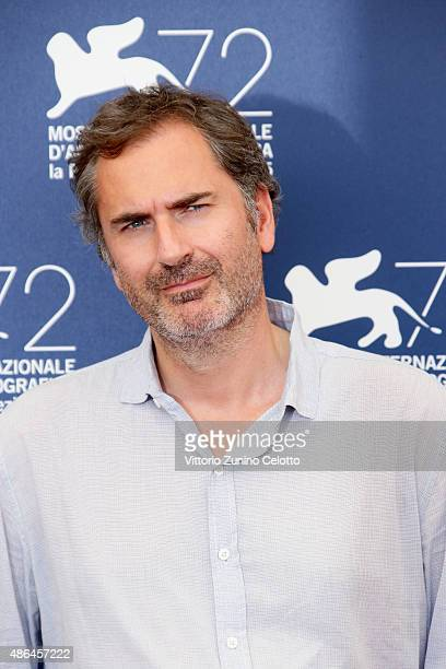 Xavier Giannoli attends a photocall for 'Mountain' during the 72nd Venice Film Festival at Palazzo del Casino on September 4 2015 in Venice Italy