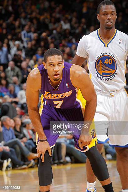 Xavier Henry of the Los Angeles Lakers during a game against the Golden State Warriors on December 21 2013 at Oracle Arena in Oakland California NOTE...