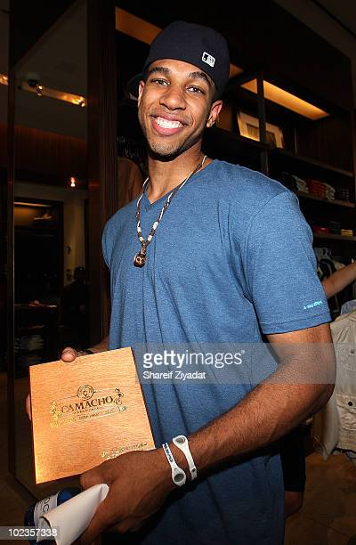 Xavier Henry visits the Sean John Store on June 23 2010 in New York City