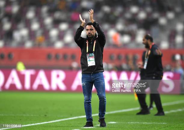 Xavier Hernandez, Head Coach of Al-Sadd Sports Club during the FIFA Club World Cup 2019 5th place match between Al-Saad Sports Club and Esperance...