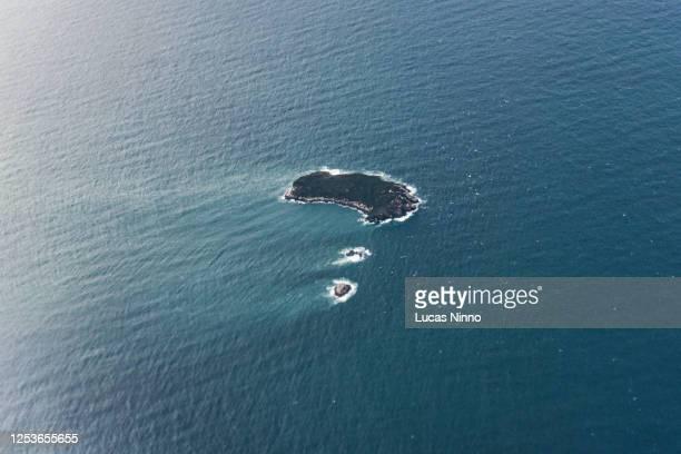 xavier island - sea current - seascape stock-fotos und bilder