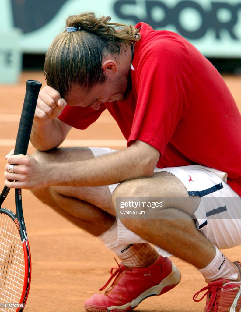 2004 French Open - Men's Third Round - Alberto Costa vs Xavier Malisse