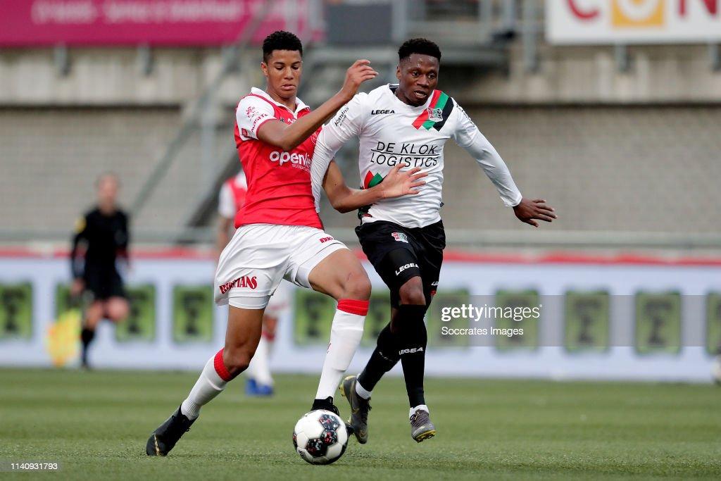 MVV Maastricht v NEC Nijmegen - Dutch Keuken Kampioen Divisie : News Photo