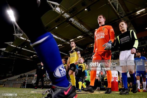 Xavier Mous of SC Cambuur during the Dutch Keuken Kampioen Divisie match between Roda JC v SC Cambuur at the Parkstad Limburg Stadium on February 15...