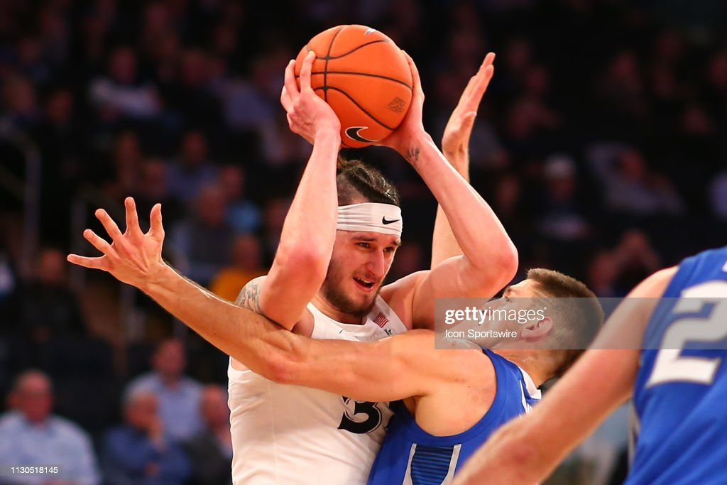 COLLEGE BASKETBALL: MAR 14 Big East Conference Tournament - Xavier v Creighton : News Photo