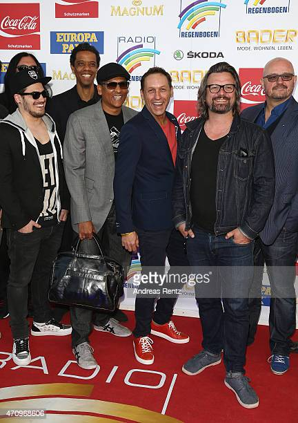 Xavier Naidoo and the band Soehne Mannheims attend the Radio Regenbogen Award 2015 at Europapark on April 24 2015 in Rust Germany