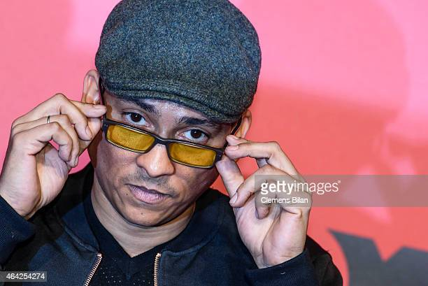 Xavier Naidoo attends a photocall for the TV show 'Sing meinen Song' on February 23 2015 in Berlin Germany