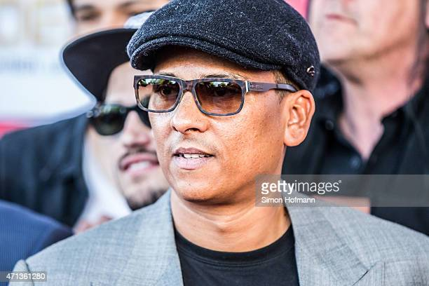 Xavier Naidoo attends the Radio Regebenbogen Award Show 2015 at Europapark on April 24 2015 in Rust Germany