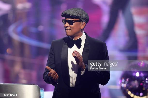 Xavier Naidoo during the first event show of the tv competition Deutschland sucht den Superstar at Coloneum on April 6 2019 in Cologne Germany For...