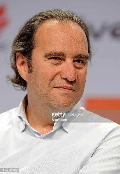 Xavier Niel founder of Iliad SA listens on the second day of the eG8 Internet Forum in Paris France on Wednesday May 25 2011 The Internet needs...
