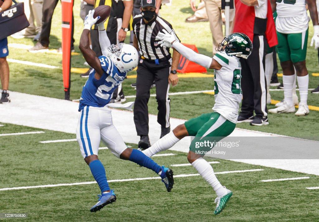 New York Jets v Indianapolis Colts : News Photo