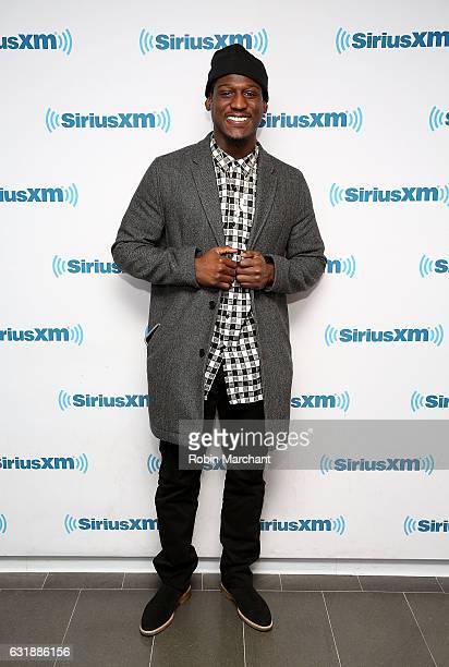 Xavier Rhodes visits at SiriusXM Studios on January 17 2017 in New York City