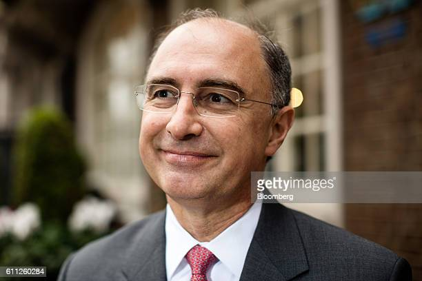 Xavier Rolet chief executive officer of London Stock Exchange Group Plc poses for a photograph following an interview in London UK on Thursday Sept...