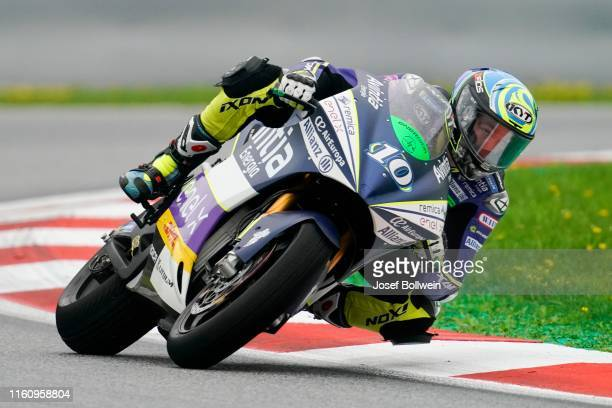 Xavier Simeon of Belgium and Avintia Esponsorama Racing during the MotoGp of Austria MotorE Race at Red Bull Ring on August 11 2019 in Spielberg...