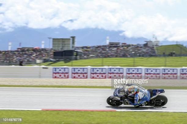 Xavier Simeon of Belgium and Ducati Brussel during the MotoGp of Austria Qualifying at Red Bull Ring on August 11 2018 in Spielberg Austria