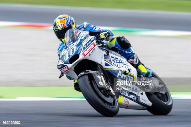 Xavier Simeon of Reale Avintia Racing during the 2018 MotoGP Italian Grand Prix Free Practice at Circuito del Mugello Scarperia Italy on 1 June 2018