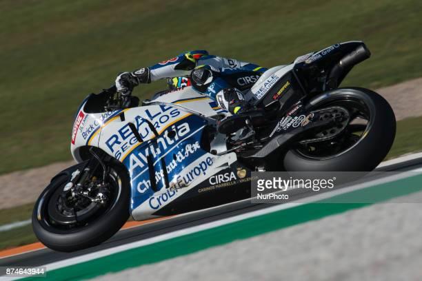 Xavier Simeon Reale Avintia Racing Ducati during the tests of the new season MotoGP 2018 Circuit of Ricardo TormoValencia Spain Wednesday 15th of...