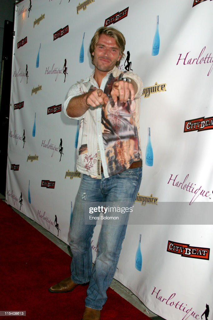 Xavier Tournaud during Harlottique 2005 Hosted by Kimberly Caldwell at Platinum Live in Studio City, California, United States.