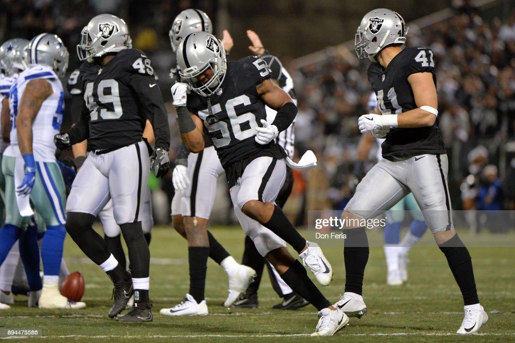 Dallas Cowboys v Oakland Raiders : News Photo