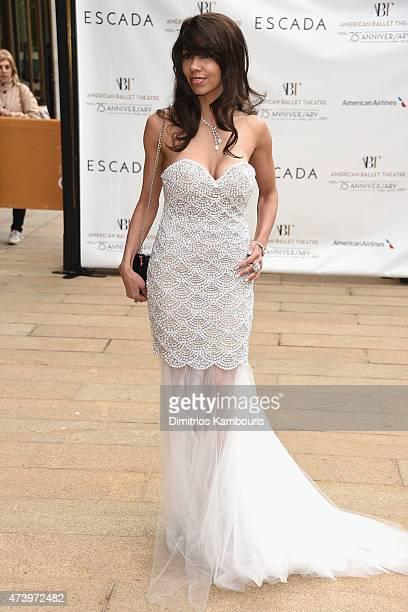 Xaviera Batista attends the American Ballet Theatre's 75th Anniversary Diamond Jubilee Spring Gala at The Metropolitan Opera House on May 18 2015 in...
