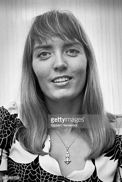 Xaviera Hollander author of the bestselling memoir The Happy Hooker My Own Story being interviewed Amsterdam Netherlands circa 1971