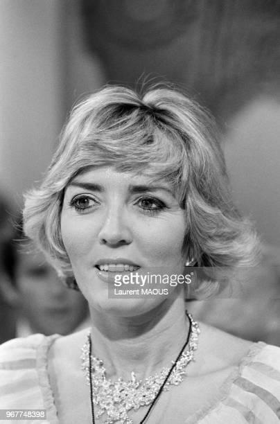 Xaviera Hollander à la télévision le 17 juin 1977 à Paris France