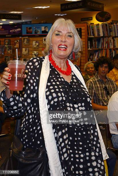 Xaviera Hollander visits Borders Books Music to sign her book for her 30th anniversary of The Happy Hooker