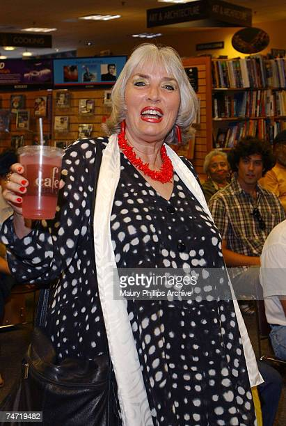 Xaviera Hollander visits Borders Books Music to sign her book for her 30th anniversary of The Happy Hooker at the Borders Books Music in Los Angeles...
