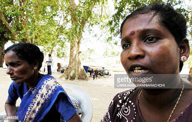 Xaviour Wilfred Kanista speaks of an alleged massacre by the Sri Lankan military in which the son of Abiragam Ganaseeli was killed on their arrival...