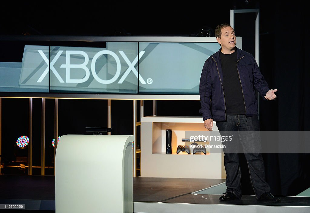 Microsoft Holds News Briefing Ahead Of E3 Conference : News Photo