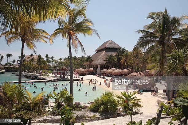 xcaret - playa del carmen fotografías e imágenes de stock