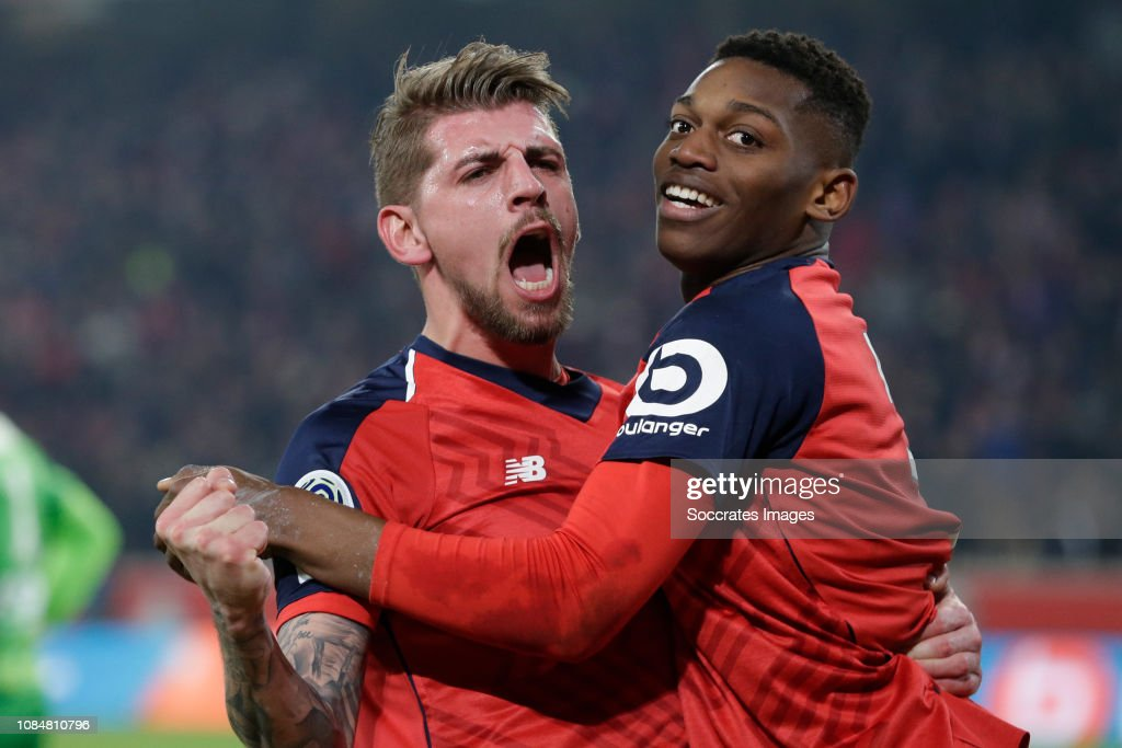 Lille v Amiens SC - French League 1 : Photo d'actualité