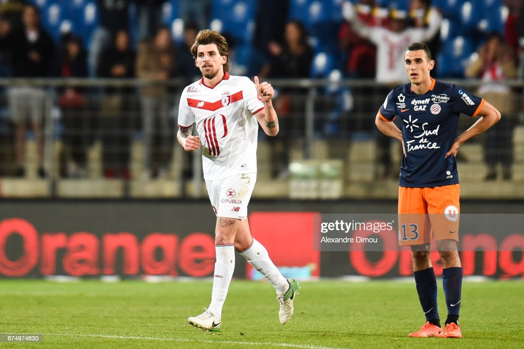 Montpellier Herault SC v Lille OSC - Ligue 1 : News Photo